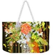 Hydrangea Centerpiece Artistic Weekender Tote Bag
