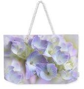 Hydrangea Floral Macro Weekender Tote Bag