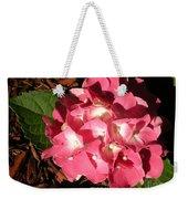 Hydrangea Flower Weekender Tote Bag