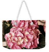 Hydrangea On The Veranda Weekender Tote Bag