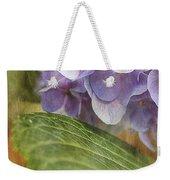 Hydrangea Portrait Weekender Tote Bag