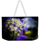 Purple Blue Hydrangea, Corona Del Mar California Weekender Tote Bag