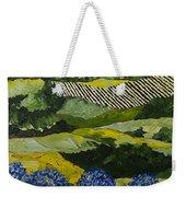Hydrangea Valley Weekender Tote Bag