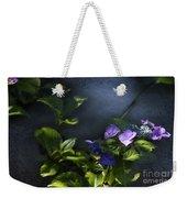 Hydrangea Violet-blue Weekender Tote Bag