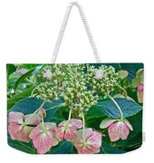 Hydrangea With A New Look Weekender Tote Bag