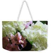 Hydrangeas Bouquet Weekender Tote Bag