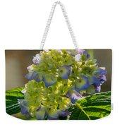 Hydrangeas First Blush Weekender Tote Bag