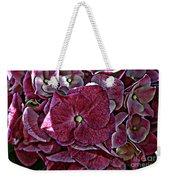 Hydrangeas In Rich Rose Color Weekender Tote Bag