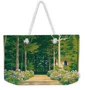 Hydrangeas On A Garden Path Weekender Tote Bag