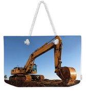 Hydraulic Excavator Weekender Tote Bag