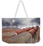 Hydroelectric Plant In Renewable Energy Concept Weekender Tote Bag