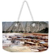 Hymen Terrace Yellowstone National Park Weekender Tote Bag