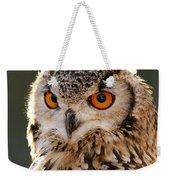 Hypnoteyes  Eurasian Eagle Owl Weekender Tote Bag
