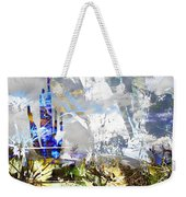 We Are Life, Liberty And The Pursuit Of Happiness, As We Create Reality Both Individually - Winter 6 Weekender Tote Bag