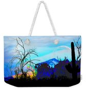 I Am And You Are The Moonset  Acknowledging And Accepting Our Past Mistakes- Autumn 1 Weekender Tote Bag