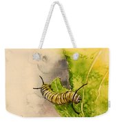 I Am Very Hungry - Monarch Caterpillar Weekender Tote Bag