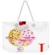 I Art Alphabet For Kids Room Weekender Tote Bag