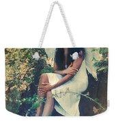 I Believe In Angels Weekender Tote Bag