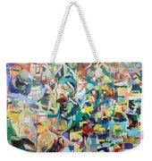 I Believe This And Understand It Fully Well 13 Weekender Tote Bag