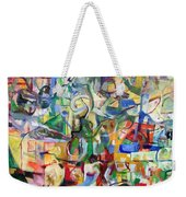 I Believe This And Understand It Fully Well 7 Weekender Tote Bag