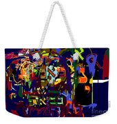 I Believe With Complete Faith In The Coming Of Mashiach 3 Weekender Tote Bag by David Baruch Wolk
