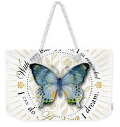 I Can Do Anything I Dream Weekender Tote Bag