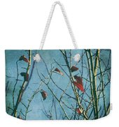 I Can't Go Just Yet Weekender Tote Bag by Laurie Search