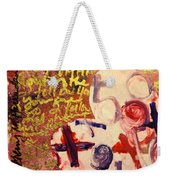 I Carry You In My Heart 2/4 Weekender Tote Bag