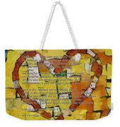 I Carry Your Heart Weekender Tote Bag