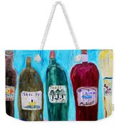 I Choose Wine By The Label Weekender Tote Bag