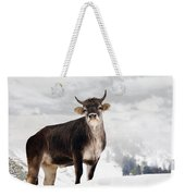 I Don't Like Snow Weekender Tote Bag