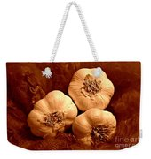 I Dream Of Garlic Weekender Tote Bag
