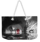 I Float On Red Weekender Tote Bag