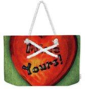 I Gave You My Heart Weekender Tote Bag