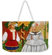 I Had A Little Nut Tree, 1995 Oils And Tempera On Panel Weekender Tote Bag