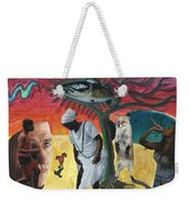 I Had Longed For Something That Would Make Me Think... Weekender Tote Bag