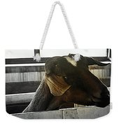 I Have My Eye On First Prize Goat Weekender Tote Bag