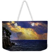 I Have Seen Fire And I Have Seen Rain Weekender Tote Bag