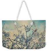 I Hope Spring Will Be Kind Weekender Tote Bag by Laurie Search