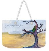 I Know The Plans I Have For You Weekender Tote Bag