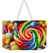 I Love Candy Weekender Tote Bag