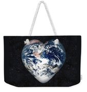 I Love Earth Weekender Tote Bag