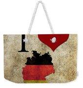 I Love Germany Weekender Tote Bag