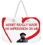 I Love Monet Weekender Tote Bag