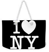 I Love New York Weekender Tote Bag