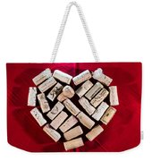 I Love Red Wine Weekender Tote Bag