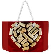 I Love Red Wine - Vertical Weekender Tote Bag