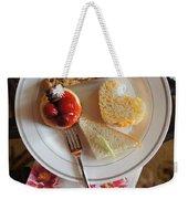 Beautiful Plate Weekender Tote Bag