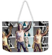 I Love You Iggy Pop Weekender Tote Bag