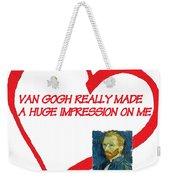 I Love Van Gogh Weekender Tote Bag